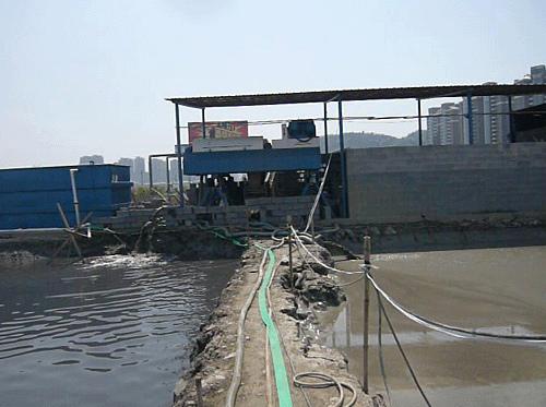 河道泥浆脱水