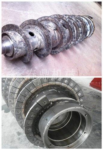 螺旋镶钨钢耐磨块