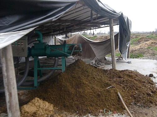 锯木粉挤压